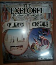 Microprose 1997 Game Collection Sid Meirer's Civilization & Colonization Games