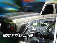 NISSAN PATROL GR Y-60 5/3-portes 1987-1997 Deflecteurs de vent 2-pcs HEKO Bulles
