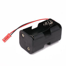Receiver Battery Pack Case Box 4 x AA for 1/8 1/10 1/16 RC Hobby Model Nitro Car