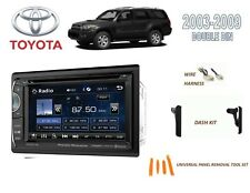 "2003-2009 TOYOTA 4-RUNNER CAR STEREO KIT,6.2"" LCD BLUETOOTH TOUCHSCREEN DVD USB"