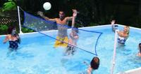 Intex 18952U Set Volley Pallavolo Per Intex Ultra Frame 549 E 732 cm