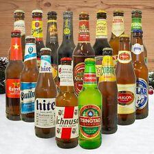 Geschenk Set Bier Spezialitäten für Männer - 16 besten Biersorten aus aller Welt