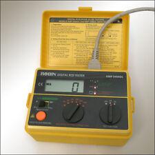 Robin KMP5404DL, digitales Schutzschalter-Prüfgerät, Digital RCD Tester, tested