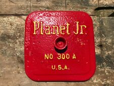 Planter Jr No 300 Antique Tractor Parts Farm Advertising Cast Iron Usa Red