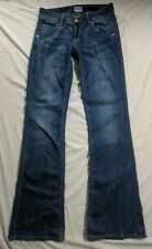Hudson Jeans Signature Ballet Boot Cut Milo Dark Wash Color Size 27 Made In USA