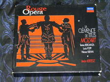 ROUGE OPERA / DECCA / 2 CD + LIVRET/ CLEMENCE DE TITUS/ MOZART / KERTESZ