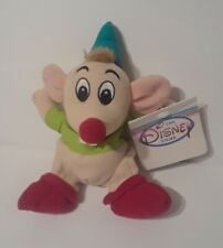 "Disney Store Gus Mouse Cinderella 6"" Mini Bean Bag Plush"