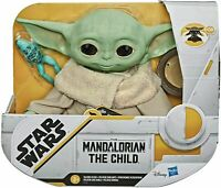 "Star Wars Mandalorian The Child Talking Baby Yoda 7.5"" Plush (Hasbro) 🎁🎄🎁🎄"
