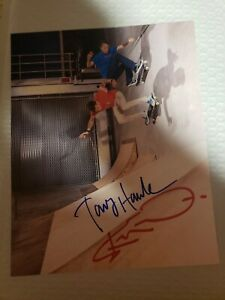 Tony Hawk And Steve-O Autographed 8x10 Photo (sold out)
