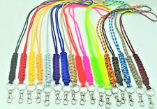 Lanyard Paracord 550 Necklace Keychain ID Holder Camera Strap (17 Colors) SALE
