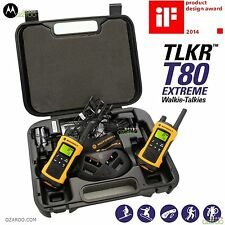 Motorola TLKR T80 Extreme 10km twin long range talkie walkie Radios Bidirectionnelles ipx4