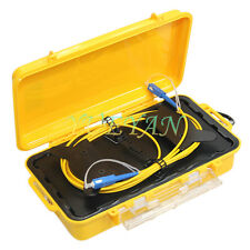 SC UPC Single Mode 9/125um 1310/1550nm 1KM OTDR Launch Cable Box Ring