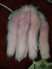 Dyed Mink Tail, Charming Fur Tails, Fox, Coyote, Taxidermy, Pet Toys Lp