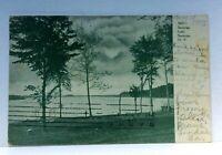 C. 1907 Saratoga Springs New York Saratoga Lake Undivided Back Vintage Postcard