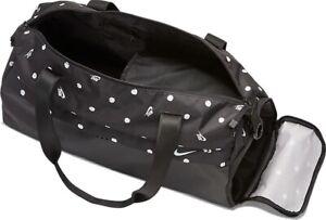 Nike NWT Women's Radiate Club Duffel Bag BA6188-010 Black MSRP $60
