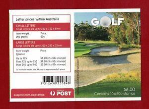 2011 Australia Golf Booklet SG SB 382 Muh