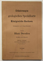 Erläuterungen geolog. Spezialkarte Sachsen Nr. 66 Blatt Dresden 1917 sf