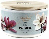 Martha Stewart Large 29oz Soy Blend 3 Wick Candle Nature Candle - White Magnolia
