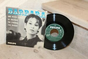 45t  Barbara - une petite cantate + 3 titres (437 142 BE)