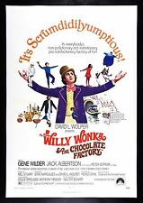 WILLY WONKA & THE CHOCOLATE FACTORY CineMasterpieces 1971 ORIGINAL MOVIE POSTER
