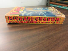 Amazing Adventures of Kavalier & Clay Michael Chabon SIGNED PPB 2000 FREE SHIP