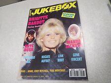 JUKEBOX MAGAZINE N° 77 01/1994 BARDOT BUSH AUFRAY WANDA poster GENE VINCENT*