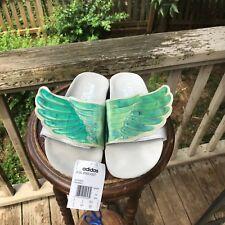 Size 7 Jeremy Scott Adidas GEL WINGS Adilette Pool Slides Sandals Flops D65983