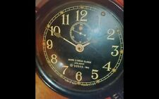 Mark I-Deck Clock Us  Navy w/ Key