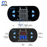 12V 10A Digital Dual Red+Blue LED W1308 Thermostat Controller Sensor Switch NTC