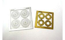 NINCO 80733 Set 4 cerchioni + 4 dischi freno in fotoincisione scala 1/32