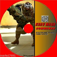 KRAV MAGA COMBAT SKILLS VIDEO GUIDE DVD EFFECTIVE COMBAT & SELF-DEFENCE TUITION
