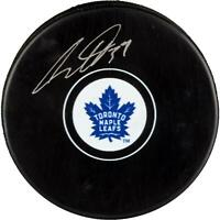 Auston Matthews Toronto Maple Leafs Signed Hockey Puck - Fanatics