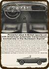 1964 SUNBEAM ALPINE CONVERTIBLE CAR Vintage Look DECORATIVE METAL SIGN - ROOTES