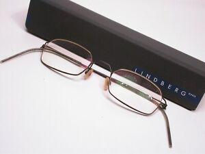Lindberg Titanium Wire Lightweight Modern Eyeglasses Frames Made in Denmark