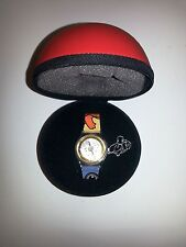 RARE!!! Pokemon Center Tokyo Opening Watch Pokeball Pikachu Charmander Poliwhirl