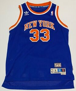 "New York Knicks Patrick Ewing Jersey NBA Hardwood Classic Adidas YOUTH Size L+2"""