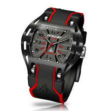 Luxury Black Swiss Watch Wryst Elements PH6 With Black DLC Limited Edition