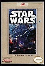 Star Wars Nintendo NES Framed Print (Man Cave Picture Poster Game Jedi Yoda Art)