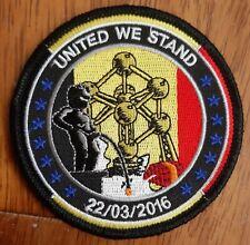 POLICE POLITIE GENDARMERIE RIJKSWACHT ABL Leger armée United We Stand patch