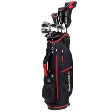 Founders Club Left Hand Tour Tuned Men's Complete Golf Club Set Stand Bag
