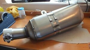 New Genuine BMW R1200 R & RS 14-18 Stainless exhaust Silencer 18578525268 B23