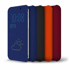 DOT VIEW CASE FOR THE HTC ONE (M8) 2014 FREE SCREEN PROTECTOR