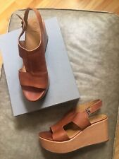 """COCLICO """"RIPTIDE"""" WEDGES Size 39 Tan (Pagoda York)"""