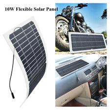 12V 10W Semi Flexible Solar Panel Mono Module DIY Kit LED Light Camping Charging