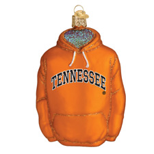 Tennessee Volunteers Hoodie Glass Christmas Ornament