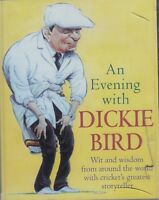 An Evening with Dickie Bird 2 Cassette Audio Book Wit Wisdom Cricket Umpire