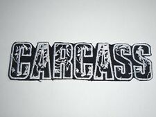 CARCASS DEATH METAL IRON ON EMBROIDERED PATCH