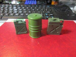 Plastic - 3 Different Gasoline Tanks