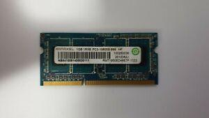 Genuine 1GB Ramaxel RMT1950ED48E7F HP DDR3 1333MHz PC3-10600 Laptop RAM SO-DIMM