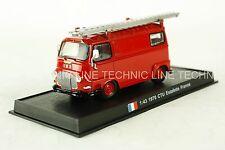 CTU Estafette  - 1970 French Fire Truck Diecast Model 1:43 No 45
